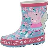 Peppa Pig Botas Wellington 3D para niñas con purpurina