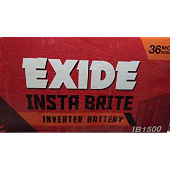 Exide 150 Ah New Insta Brite Battery