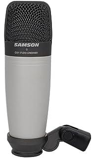 Samson Technologies C01 Large Diaphragm Vocal Condenser Microphone