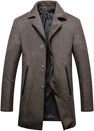 Anguang Mens Casual Comfortable Business Slim Fit Plaid Blazer Jacket