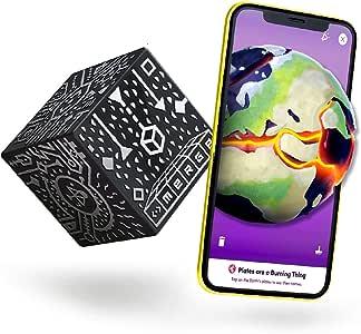 Merge Cube Jouet STEM Réalité Augmentée - Jeux éducatifs pour apprendre les sciences, les mathématiques, l'art et plus encore en classe et à la maison