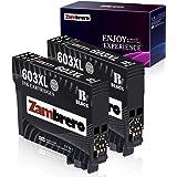 Zambrero 603XL Nero Cartucce Sostituzione per Epson 603 XL 603XL Cartucce per Epson Expression Home XP-2100 XP-2105 XP-3100 X