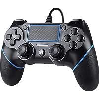 Zexrow Wired Controller per PS4, Wired Game Controller per PlayStation4/Pro/Slim/PC, Gamepad con doppia vibrazione…