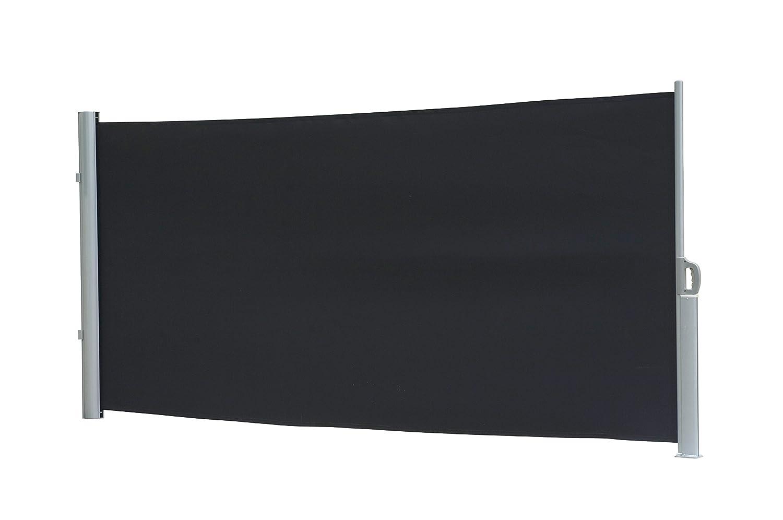 Amazon Seitenmarkise Dubai 180 x 300 cm dunkelgrau Alu