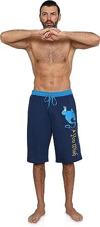 Disney Men's 100% Cotton Sleep/Lounge Drawstring Pajama Shorts