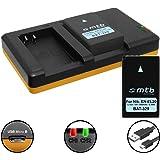 2 Akkus + Dual-Ladegerät (USB) für EN-EL20(A) / Nikon Coolpix A, DL24-500 / Nikon 1 AW1, 1 J1, 1 J2, 1 J3, 1 S1, 1 V3 - inkl. Micro-USB-Kabel