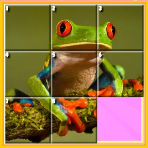 Schiebe-quadrat (Fun Slide Puzzle)