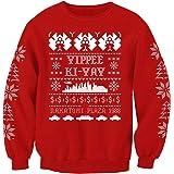 Die Hard Movie Inspired Christmas Jumper Adults Sweatshirt