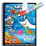 Mumoo Bear Cartoon Water Coloring Magic Book With Water Pen For Toddlers and Kids
