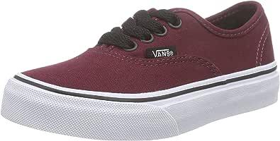 Vans , Sneakers Basses Mixte Enfant - Rouge - Bordeaux, EU 27 (US ...