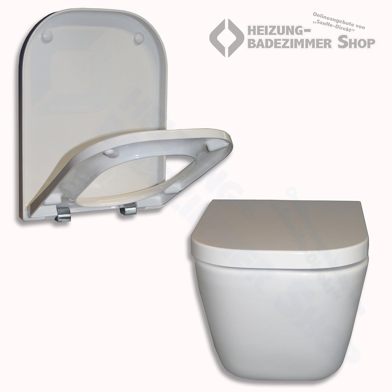 Turbo Roca WC Gap Wand-WC spülrandlos weiß - Tiefspül-WC (Roca WC Gap  MF14