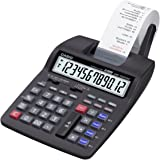 CASIO HR-150TEC calcolatrice scrivente portatile - Display a 12 cifre con alimentazione a rete possibile