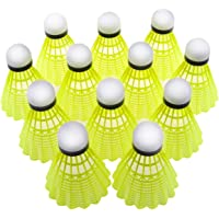 Tima 12-Pack Nylon Shuttlecocks Indoor Outdoor Sports Hight Speed Advanced with Great Stability and Durability