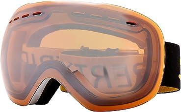 Supertrip Skibrille Herren Damen Snowboardbrille für Brillenträger Antifog 100% UV400 schutz