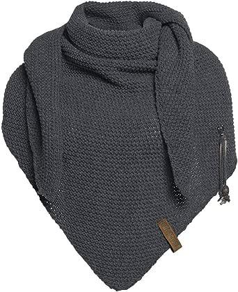 Knit Factory Damen Schal LOLA Dreieck Schal 190 x 85 cm