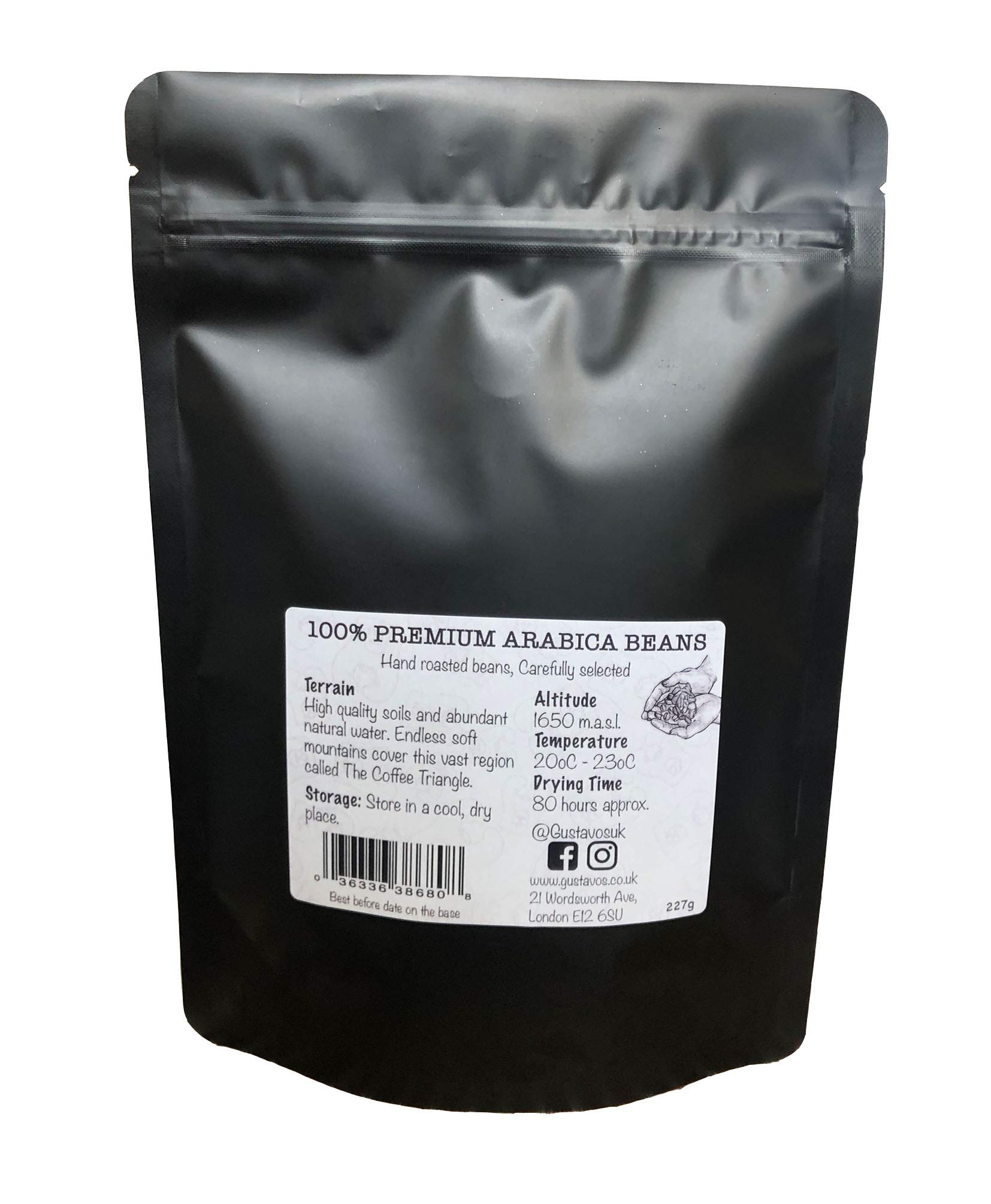 Gustavos Finca Venecia Premium Ground Coffee