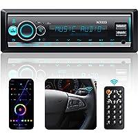RDS Autoradio Bluetooth 5.0 par App/Volant/Télécommande, CENXINY 1 DIN FM Radio Voiture Bluetooth Mains Libres, Support…