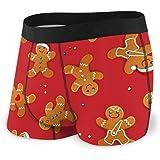 Christmas Gingerbread Mans Men's Underwear Boxer Briefs Cotton Sport Boxer Shorts S-XXL