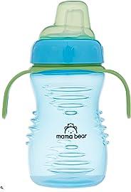 Amazon Brand - Mama Bear Soft Spout Sipper, Blue, 280 ml