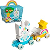 LEGO 10953 DUPLO Unicorn Train Toy for Boys & Girls 1 .5 Years Old My First Building Set