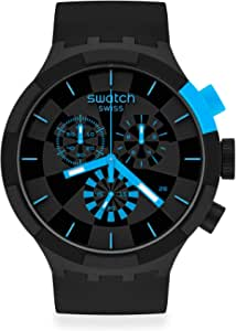 Montre Swatch Big Bold Chrono SB02B401 Checkpoint Blue