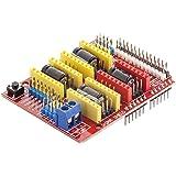 AZDelivery CNC Schild V3 ontwikkelingskaart voor A4988 stappenmotor driver Stepper voor 3D printer Inclusief E-Book!