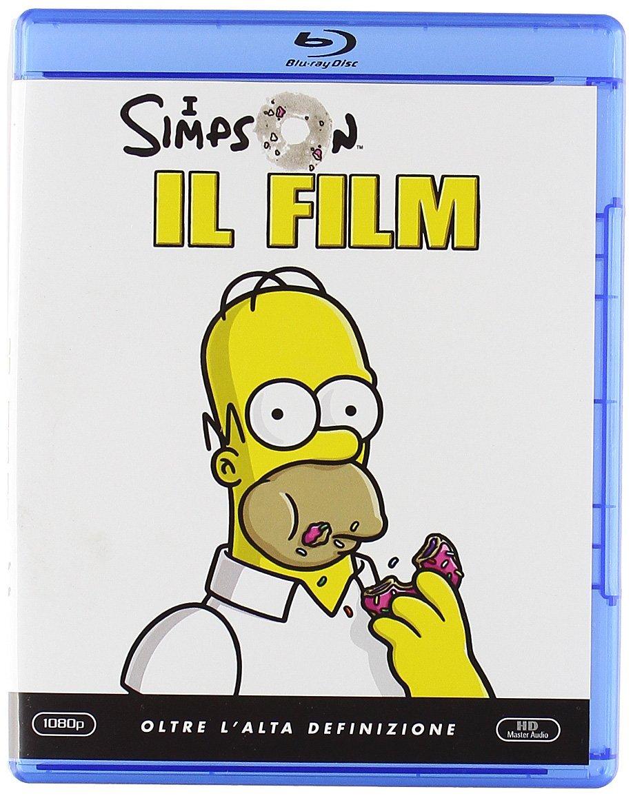71QUcO6ek5L - I Simpson - Il film [Italia] [Blu-ray]
