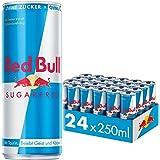 Red Bull Energy Drink Sugarfree 24 Pack / MET Pand voor Duitsland 250ml