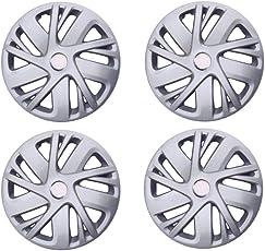 Autorepute Premium Quality Car Full Caps Silver 14Inches Wheel Cover For - Maruti Suzuki Swift Old
