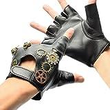 BLESSUME Vittoriano Punk handschoenen, zonder vingers, vintage, gothic, punk, unisex cosplay handschoenen