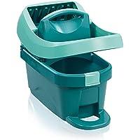 Leifheit Essore-housse Profi XL avec roulettes et pédale d'essorage, seau essoreur pratique compatible avec lave-sol…