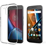 Photron Motorola Moto G 4th Generation / Moto G Plus 4th Generation [ Moto G4 / G4 Plus] Liquid Crystal Clear Soft Gel Ultra