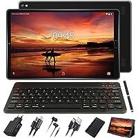 GOODTEL Tablet 10 Pollici Tablet Android 4G con 3 slot (Dual SIM + SD) Processore Quad Core 1.5GHz, 3 GB RAM + 32 GB ROM Doppia Fotocamera WiFi Bluetooth GPS
