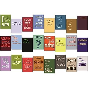 adventskalender sprüche englisch tom bäcker Denglisch Postkarten Set/Mix   24 Karten   Nr 1  adventskalender sprüche englisch