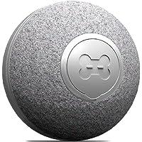 DIIBRA Mini Ball by cheerble - Katzenspielzeug elektrisch klein wie EIN Tischtennisball mit Wollummantelung - interaktiv…