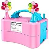 Deeplee Pompe à Ballon Gonfleur à Ballon électrique Portable Pompe à air pour Ballons de baudruche pour Fête, Mariage et Anni