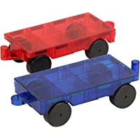 FLYING START Magna Tiles Cars Expansion Set (2 Pcs)