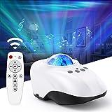 LIWIN Northern Galaxy Projector Light, Projecteur de veilleuse LED Star Projector Lights avec Bluetooth et mode bruit blanc T