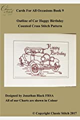 Outline of Car Happy Birthday (Cards For All Occasions Book 9) Kindle Edition