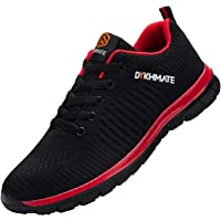 DYKHMATE Uomo Scarpe da Ginnastica Sportive Sneakers Running Basket Sport Outdoor Fitness Respirabile Scarpe da Corsa