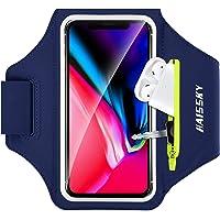 Fascia da Braccio Portacellulare con Titolare Airpods per Correre Sweatproof Fascia Sportiva da Braccio per iPhone 11…