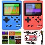 GOLDGE Consoles De Jeux Portable,Console de Jeu Retro FC pour Deux Joueurs,Chargement USB Consoles avec 400 Classique Jeux, G