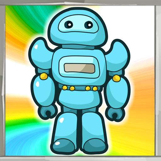 Robot Coloring Book (Roboter-antenne)