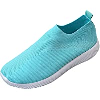 ADOSSAC Baskets Mode Femme Chaussures de Course Chaussures Outdoor Femme Chaussures de Sports Confortable Respirante…