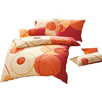 erwin m ller bettw sche biber sekt gr e 135x200 cm 40x80. Black Bedroom Furniture Sets. Home Design Ideas