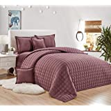 Compressed two-sided Comforter 4 Piece Set, Single Size, Light Purple