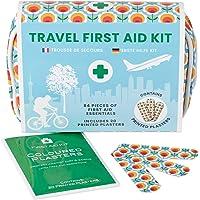 Yellodoor Mini Erste Hilfe Set – 84-TLG. für Unterwegs, Reise, Wandern, Zuhause, Outdoor, in wasserfestem Etui, leichte…