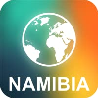 Namibia Offline Karte