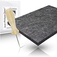 Jean-Philippe Dietz® - Prickeln Prickelset ( Prickelnadel + Prickelfilz ) für Kinder und Erwachsene | 20 x 15 x 1 cm