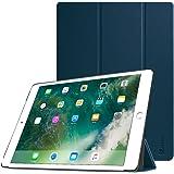 Fintie Coque pour iPad Pro 12.9 - Ultra Fine Slim Fit Cuir synthétique Smart Housse Cover avec Auto Sleep/Wake pour iPad Pro 12,9 Pouces 2e génération 2017 / 1st génération 2015, Bleu Marrine